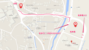 玉名温泉夢まつり2015地図